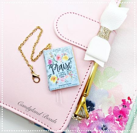 Praise Journaling Bible Charm