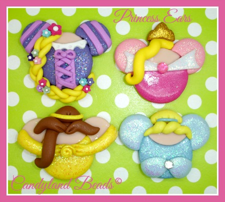 Princess Mickey Ears - (Any Princess or Character)