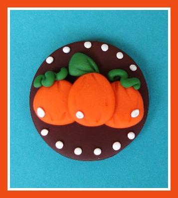 Fall Pumpkin Disc