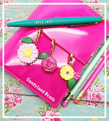 Sweet Blossoms Planner Charm