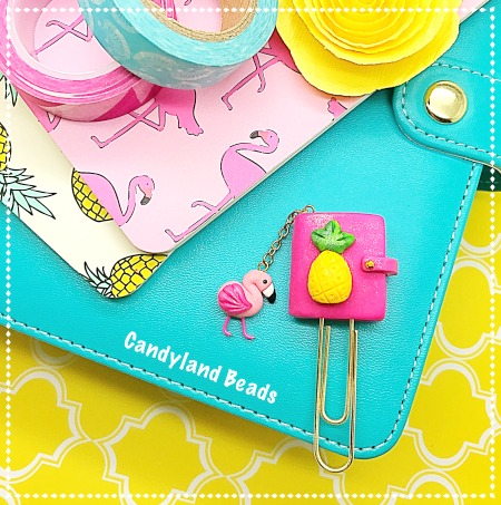 Tropical Planner Clip