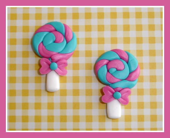 Swirl Lollipops (2) Any Colors